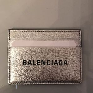 Balenciaga Leather Card case